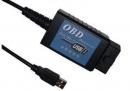 Адаптер  ELM327 FTDI USB русская версия