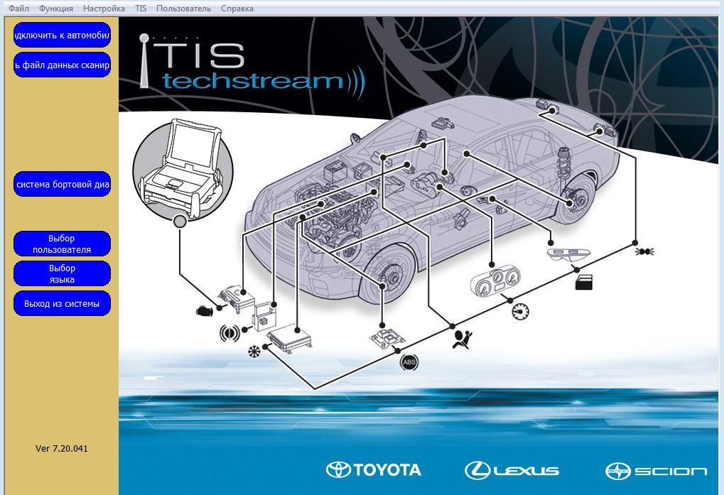 Techstream инструкция на русском